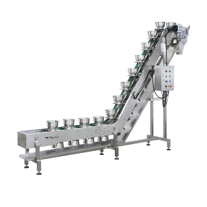 Inclined Bowl Conveyor(inclined bucket conveyor)